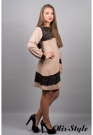 Платье Инди (бежевый)  оптовая цена