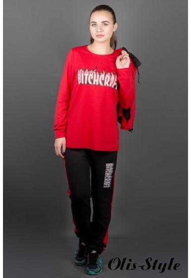 Спортивный костюм Арти (красный) Оптовая цена