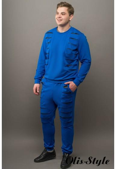 Мужской спортивный костюм Эполь (электрик) Оптовая Цена