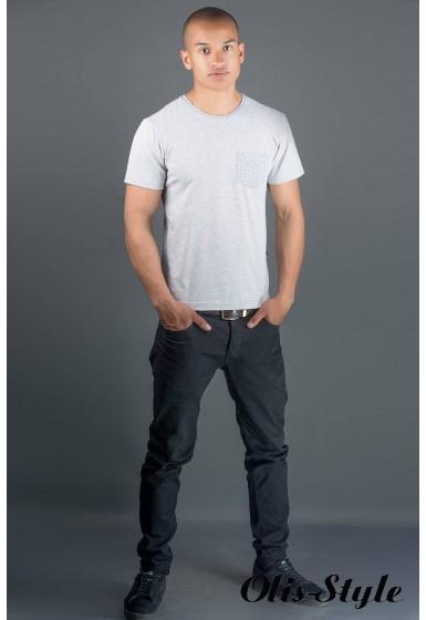 Мужская футболка Жерар 2 (серый) оптовая цена