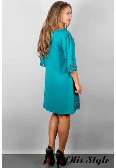 Платье Валенсия (бирюза) Оптовая Цена