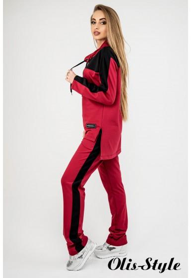 Спортивный костюм Джейла (бордовый) Оптовая цена