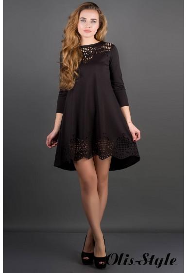 Платье Летисия (черный) Оптовая Цена