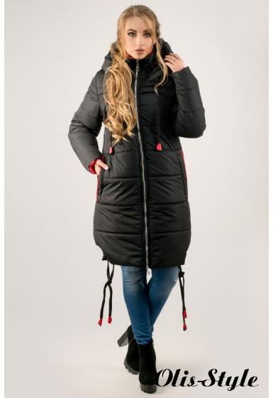 Зимняя куртка Лиана (черный) Оптовая цена