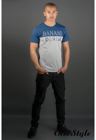Мужская футболка Бани (синий) оптовая цена