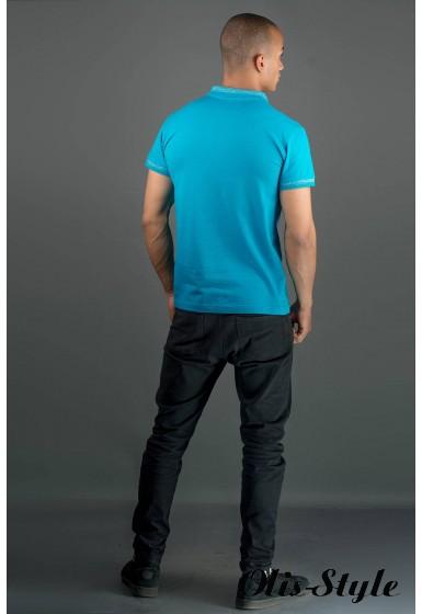 Мужская футболка Тимур (бирюза) оптовая цена