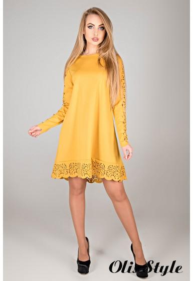 Платье Эрин (горчичный) Оптовая цена