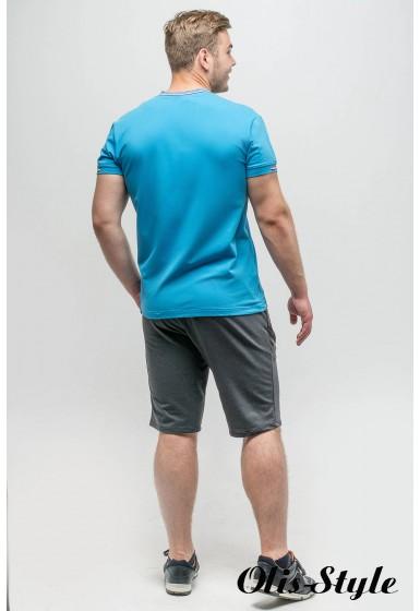 Мужская футболка Грэй (бирюза) оптовая цена