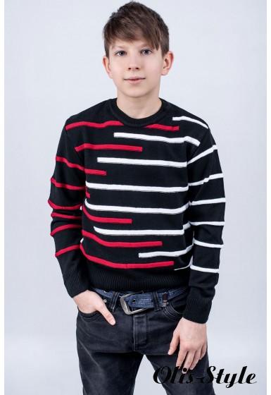 Детский свитер Илья (красный)