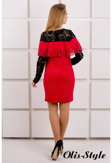 Платье Элис (красный) Оптовая цена