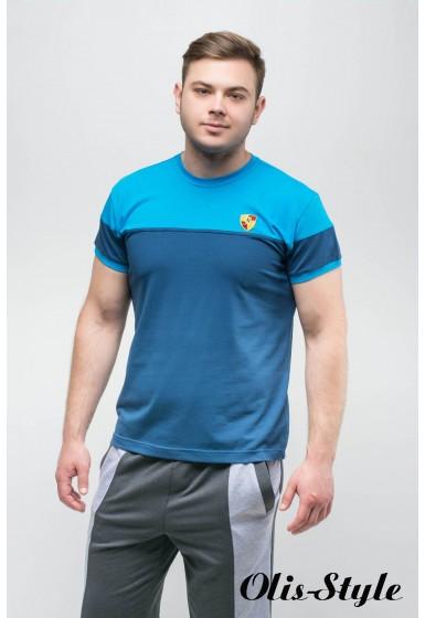 Мужская футболка Фердинант (синий) оптовая цена