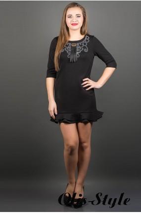 Платье Кураж (черный) ОПТОВАЯ ЦЕНА