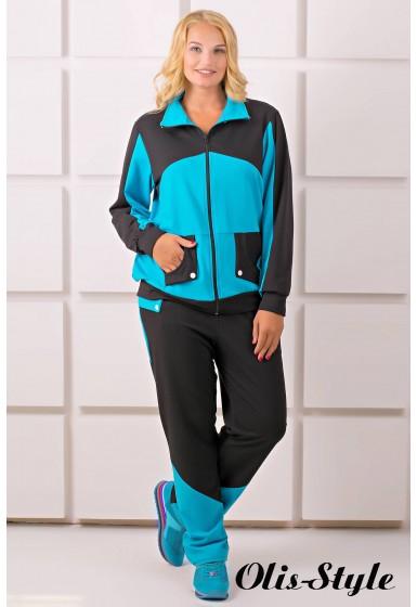 Спортивный костюм Бонита (бирюза)   оптовая цена