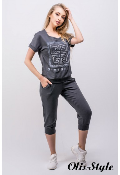 Спортивный костюм Амми (темно серый) Оптовая цена