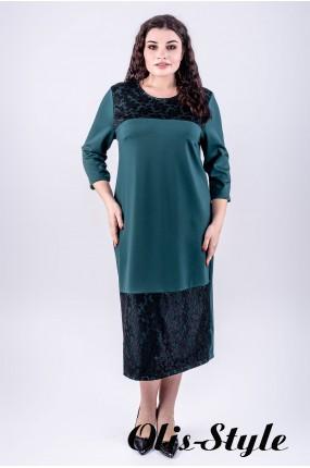 Платье Латика (зеленый)