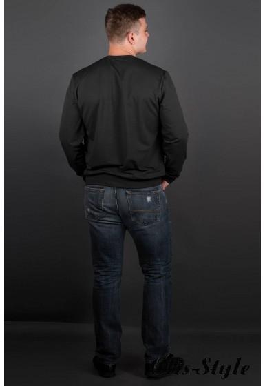 Мужская толстовка Роэль (черный) оптовая цена