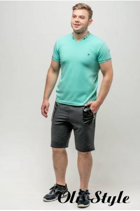 Мужская футболка Грэй (мята) оптовая цена