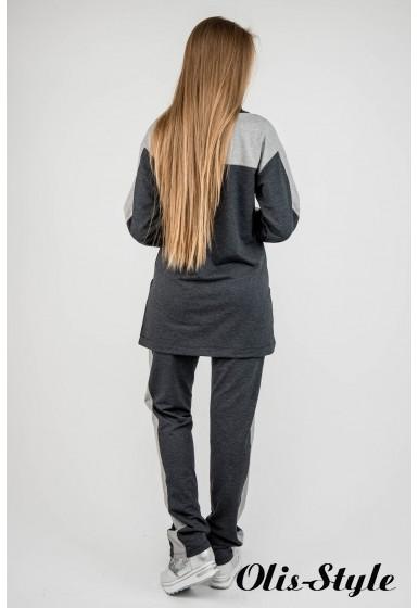 Спортивный костюм Джейла (темно серый) Оптовая цена