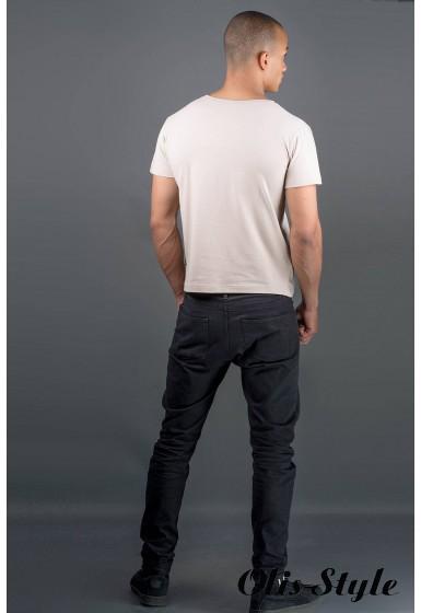 Мужская футболка Жерар (бежевый) оптовая цена