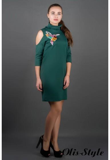Платье Самира (зеленый) Оптовая цена