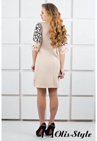 Платье Мэйби (бежевый) Оптовая цена