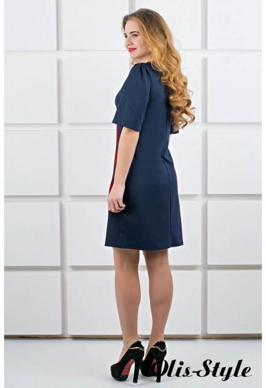 Платье Ариэль (синий) Оптовая цена