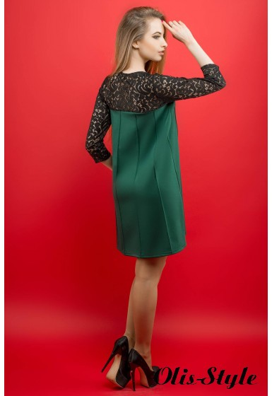 Платье Эмма (зеленый) Оптовая цена