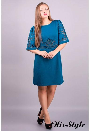 Платье Вивиана (морская волна) ОПТОВАЯ ЦЕНА
