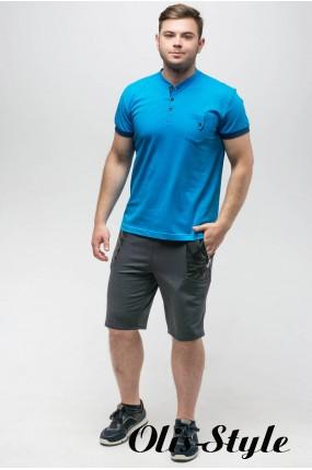 Мужская футболка Филипп (бирюза) оптовая цена