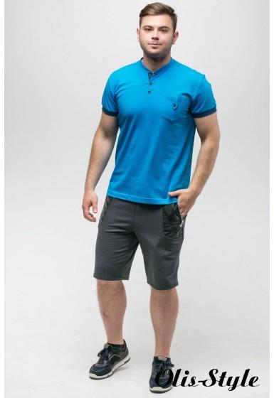 Мужская футболка Филипп (бирюза)