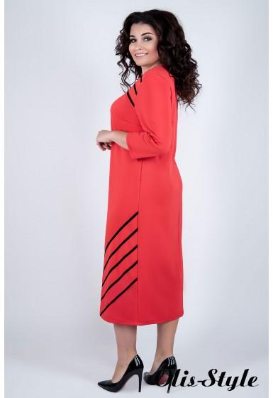 Платье Камелия (коралл) Оптовая цена