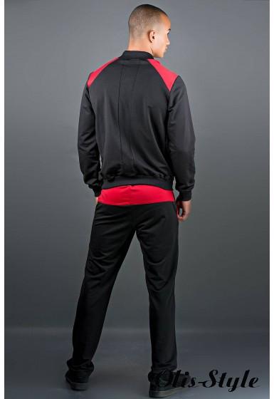 Мужской спортивный костюм Митчел (красный) Оптовая Цена