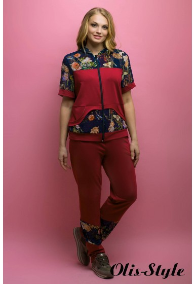Спортивный костюм Амбрелла (бордовый) оптовая цена