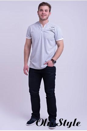 Мужская футболка Систен (серый) оптовая цена