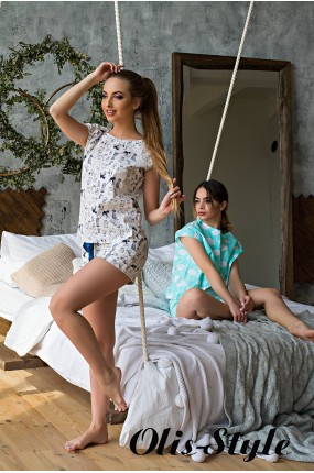 Пижама Фанни (белый) оптовая цена