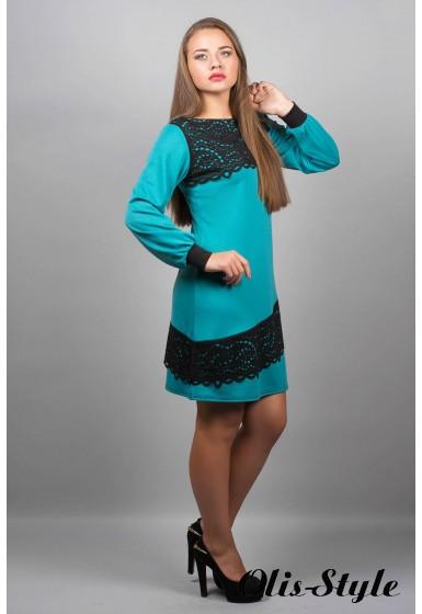 Платье Инди (бирюза)  оптовая цена