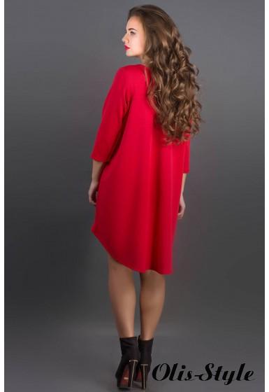 Платье Гретти (красный) Оптовая цена