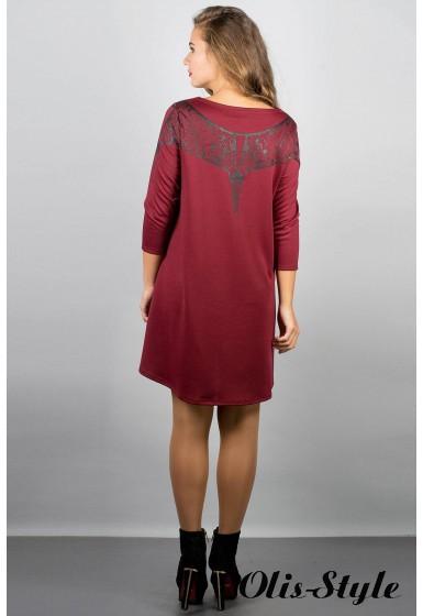 Платье Мэри-эль (бордовый) Оптовая цена