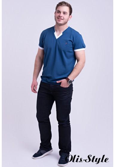 Мужская футболка Томи (светло синий) оптовая цена