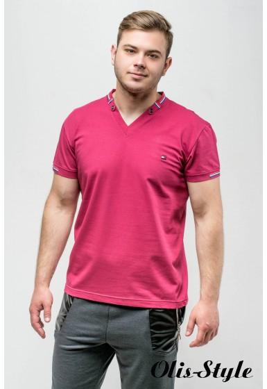 Мужская футболка Грэй (бордовый) оптовая цена