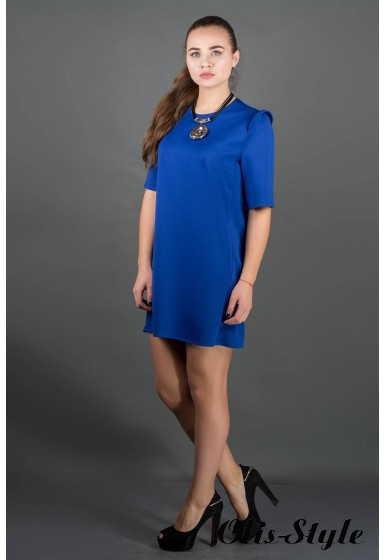 Платье Блуми (электрик) Оптовая цена