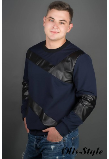 Мужская толстовка Эйстин (синий) оптовая цена