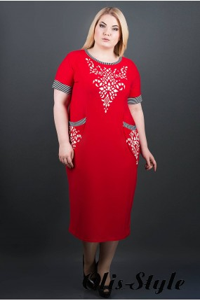 Сарафан Мартина (красный)     оптовая цена