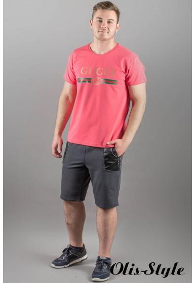 Мужская футболка Гуччи (коралл)