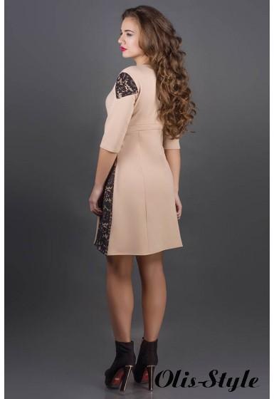 Платье Оника (бежевый) Оптовая цена