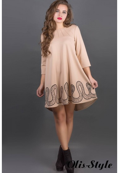 Платье Гретти (бежевый) Оптовая цена