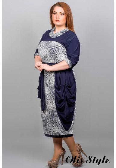 Платье Ирен (квадратики)  Оптовая Цена