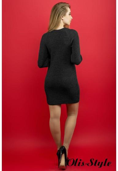 Платье Люси (черный) Оптовая цена
