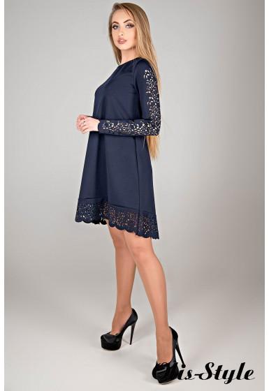 Платье Эрин (синий) Оптовая цена