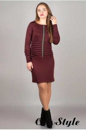 Платье Рио (бордовый)     оптовая цена